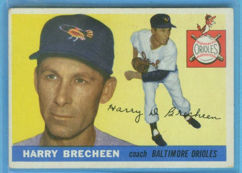 1955 Topps #113 Harry Brecheen CO
