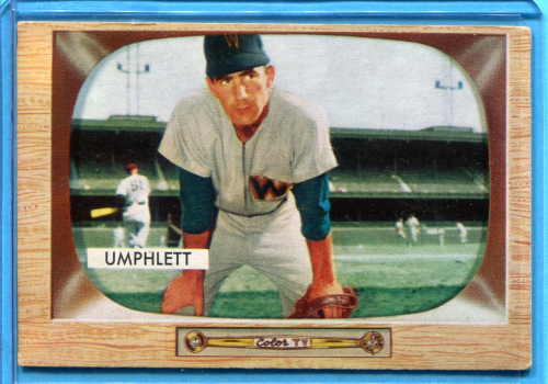 1955 Bowman #45 Tom Umphlett