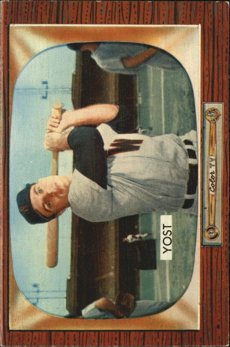 1955 Bowman #73 Eddie Yost