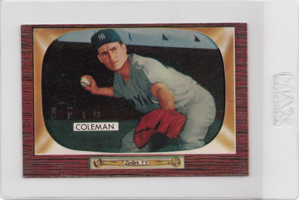 1955 Bowman #99 Jerry Coleman