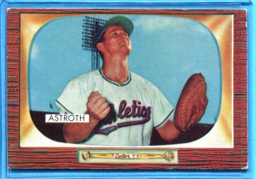 1955 Bowman #119 Joe Astroth