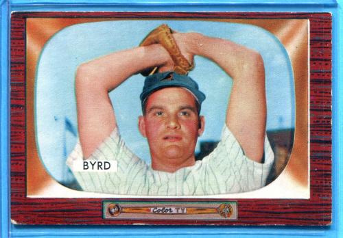 1955 Bowman #159 Harry Byrd