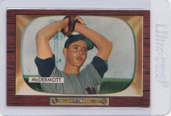1955 Bowman #165 Maurice McDermott
