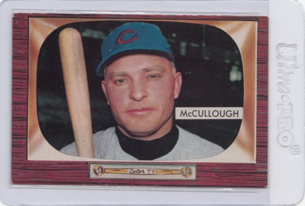 1955 Bowman #280 Clyde McCullough