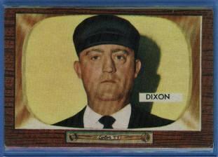 1955 Bowman #309 Hal Dixon UMP