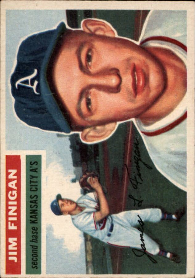 1956 Topps #22 Jim Finigan