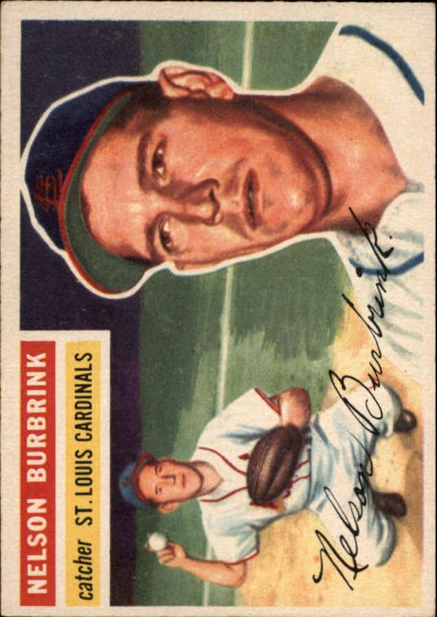 1956 Topps #27 Nelson Burbrink DP RC