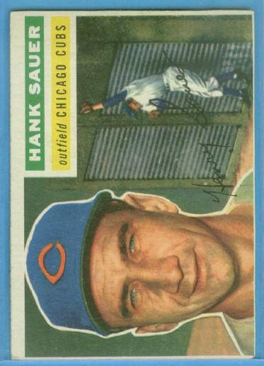 1956 Topps #41 Hank Sauer