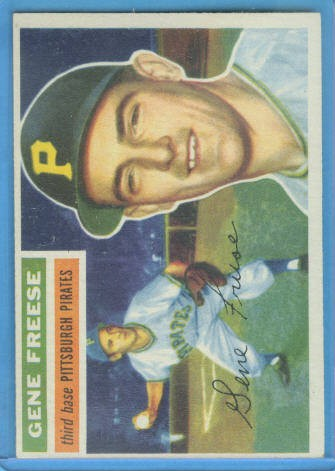 1956 Topps #46 Gene Freese DP
