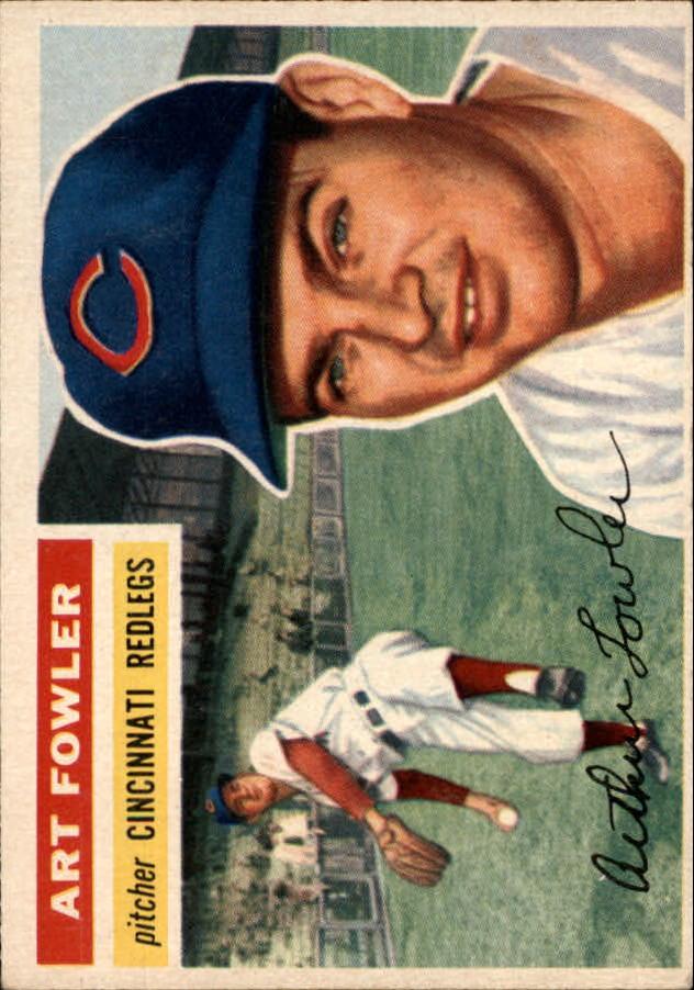 1956 Topps #47 Art Fowler