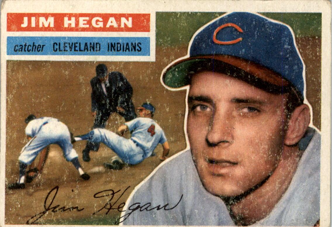 1956 Topps #48 Jim Hegan