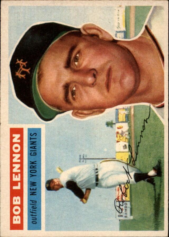 1956 Topps #104 Bob Lennon