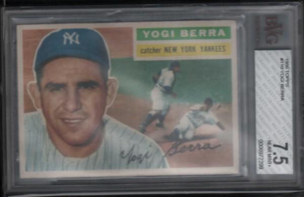 1956 Topps #110 Yogi Berra