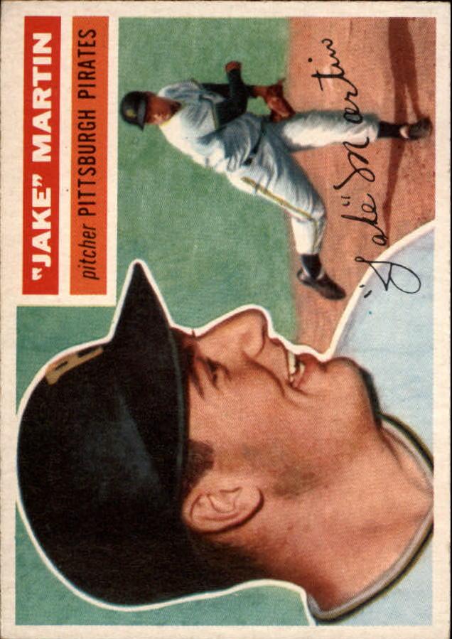 1956 Topps #129 Jake Martin RC