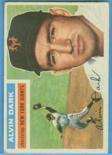 1956 Topps #148 Alvin Dark
