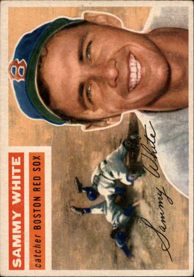 1956 Topps #168 Sammy White