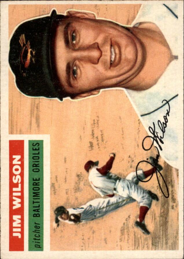 1956 Topps #171 Jim Wilson