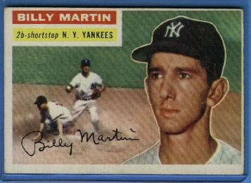 1956 Topps #181 Billy Martin