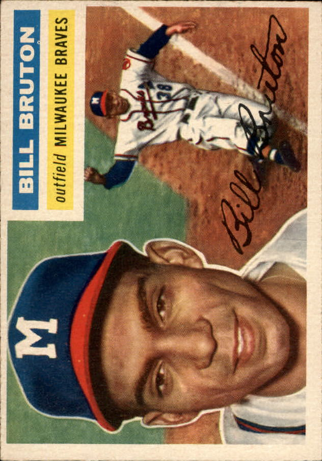 1956 Topps #185 Bill Bruton