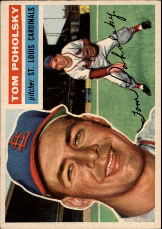 1956 Topps #196 Tom Poholsky