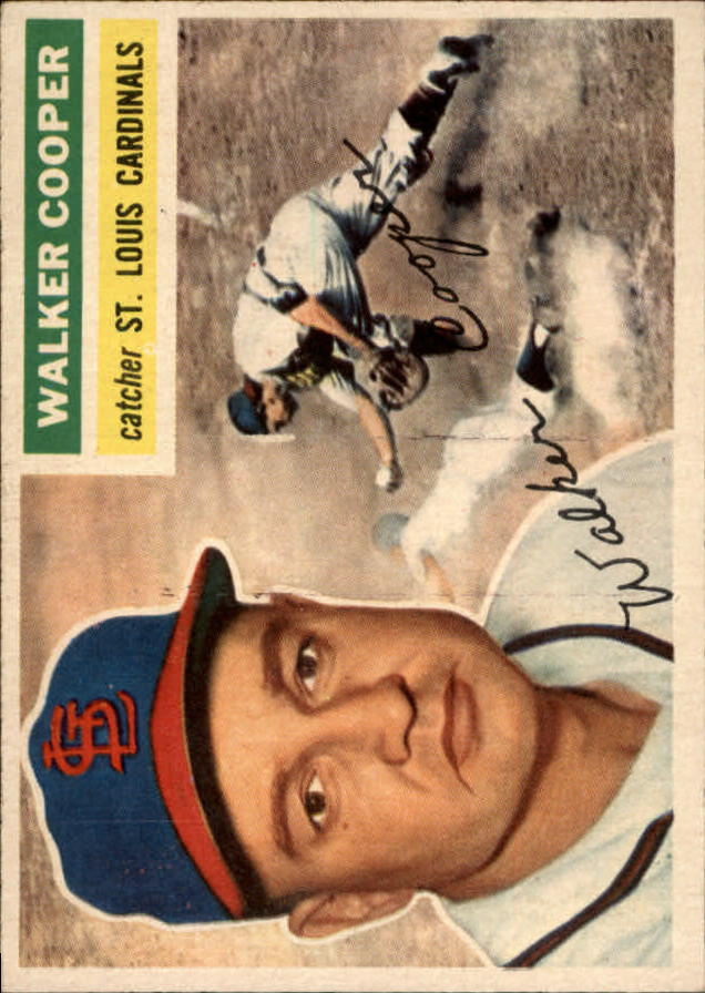 1956 Topps #273 Walker Cooper