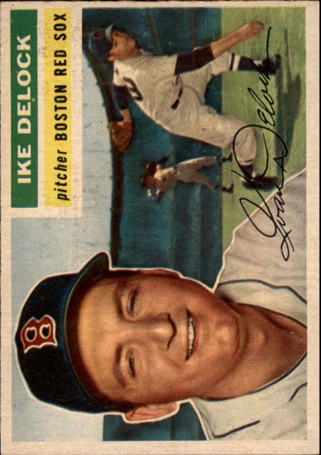 1956 Topps #284 Ike Delock