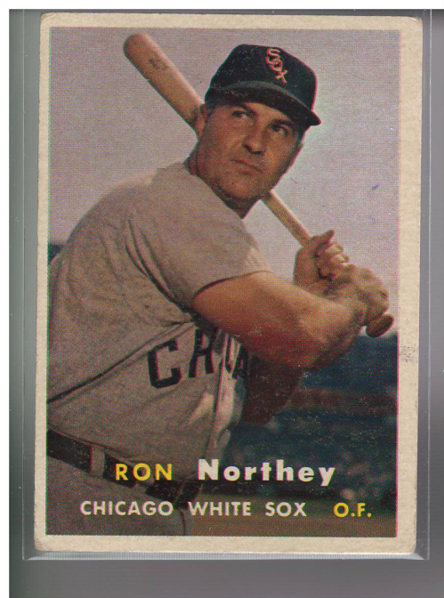 1957 Topps #31 Ron Northey
