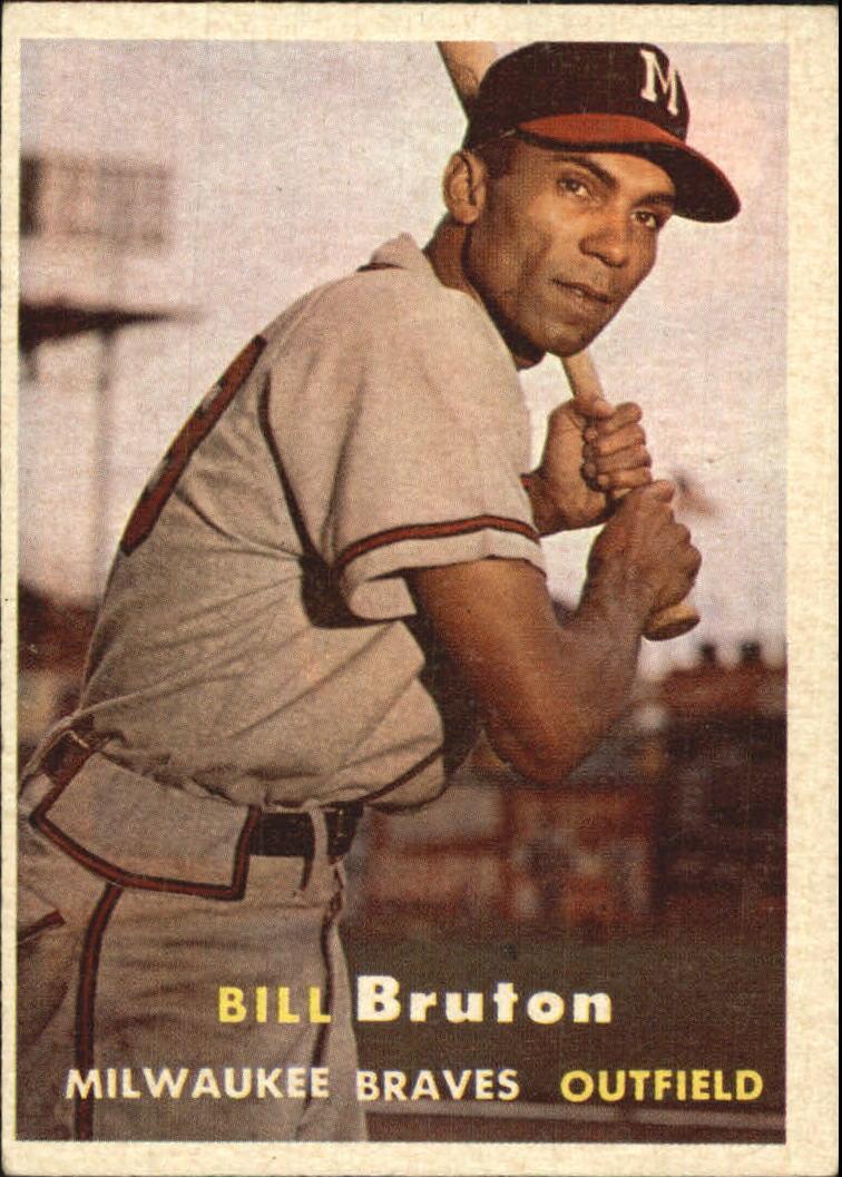 1957 Topps #48 Bill Bruton