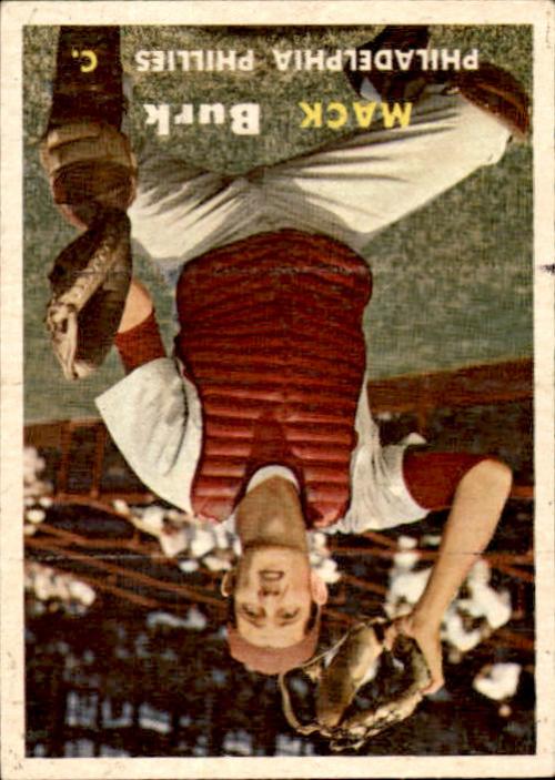 1957 Topps #91 Mack Burk RC