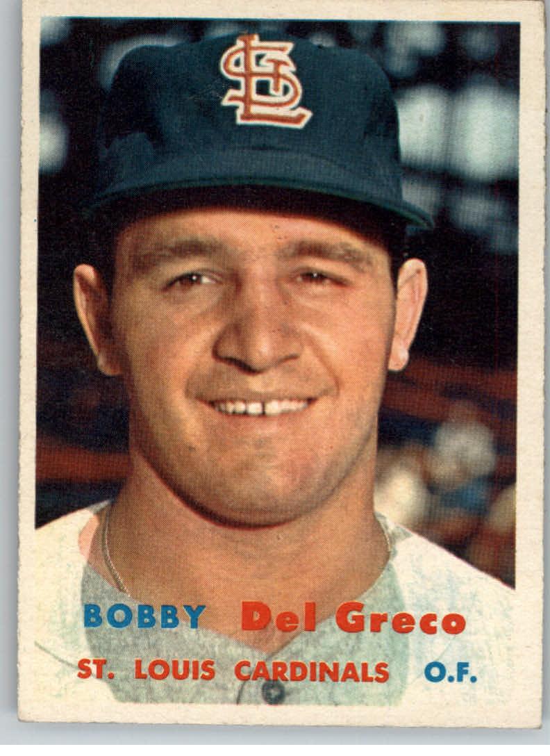 1957 Topps #94 Bobby Del Greco