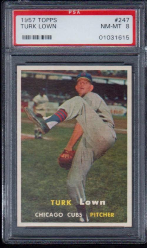 1957 Topps #247 Turk Lown