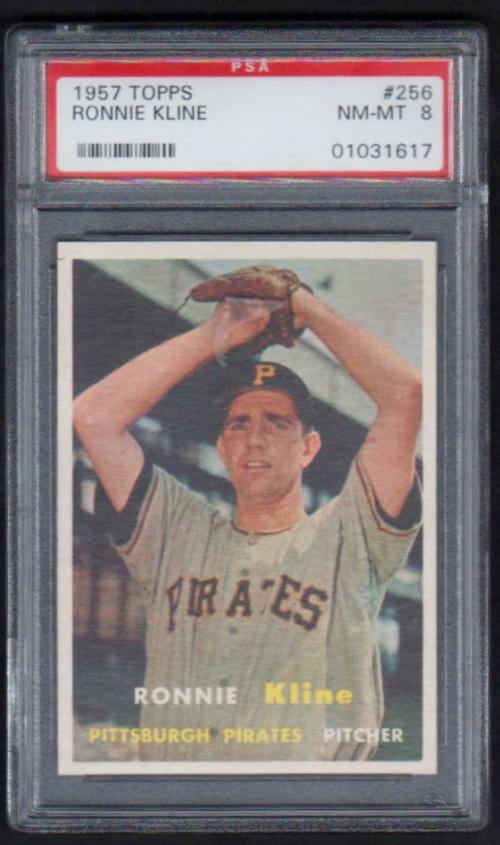 1957 Topps #256 Ron Kline