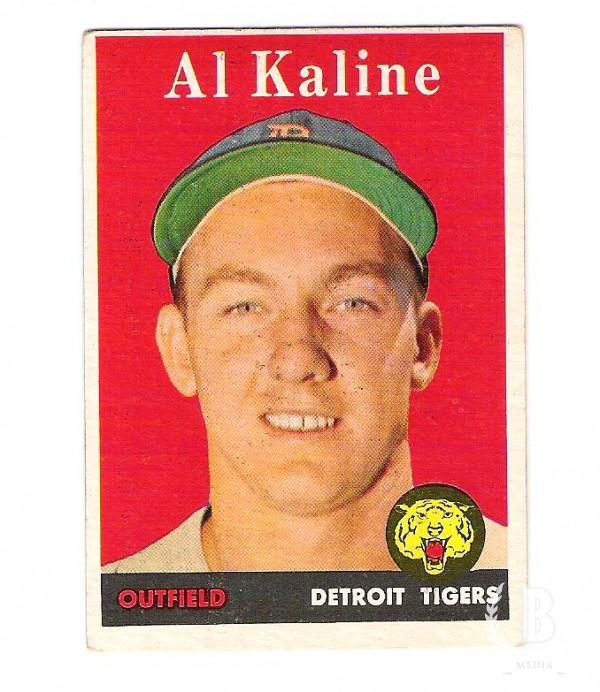 1958 Topps #70A Al Kaline