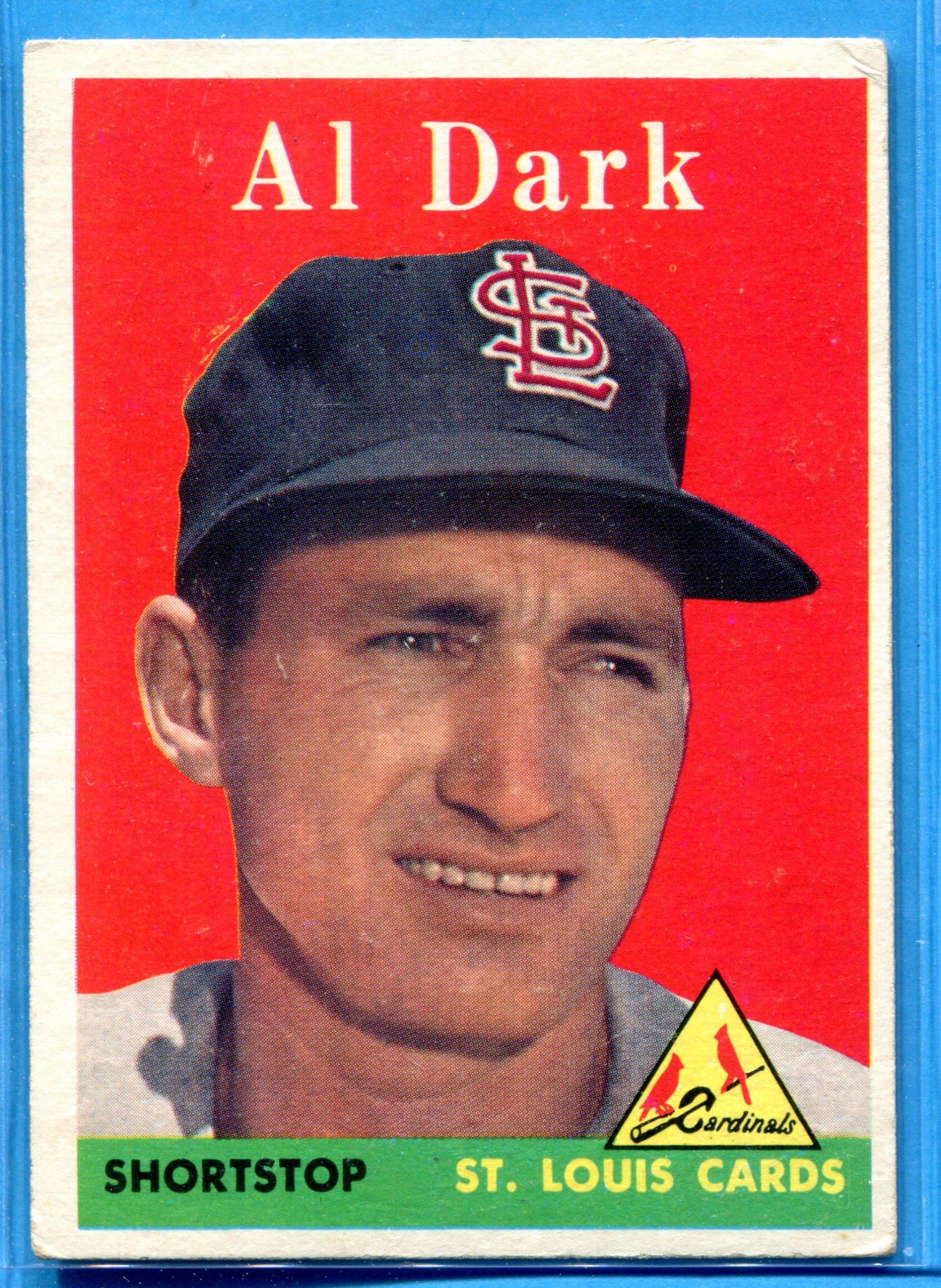 1958 Topps #125 Alvin Dark