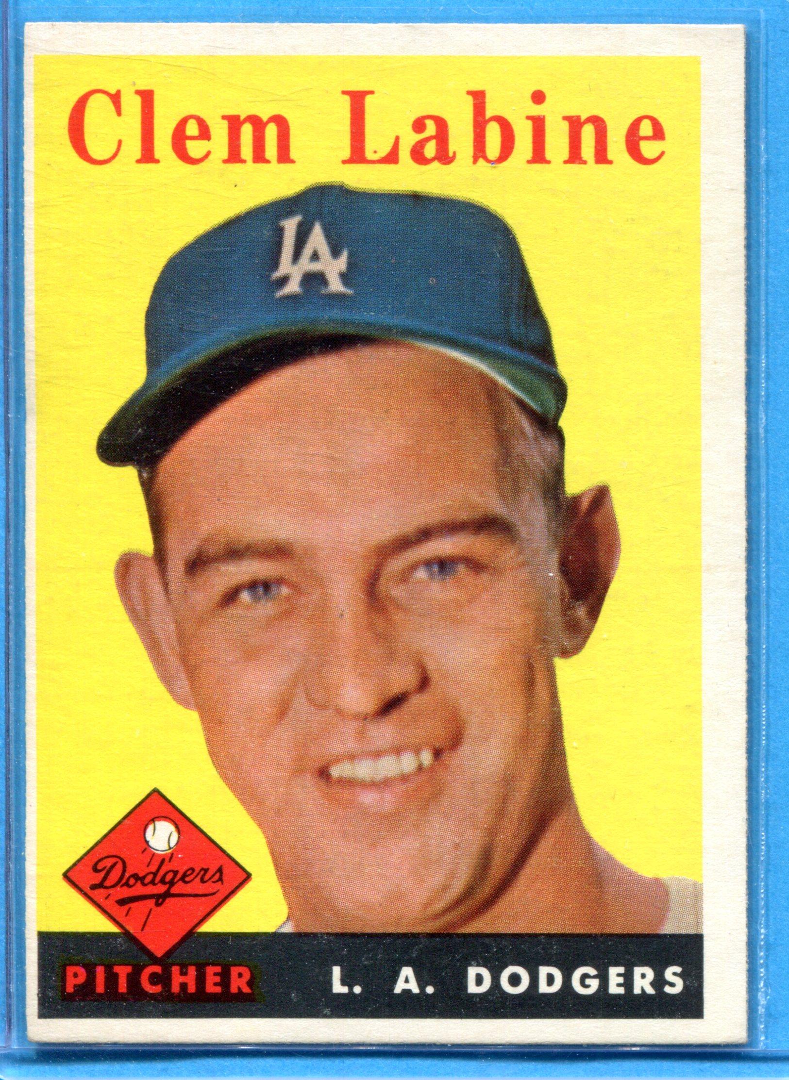 1958 Topps #305 Clem Labine