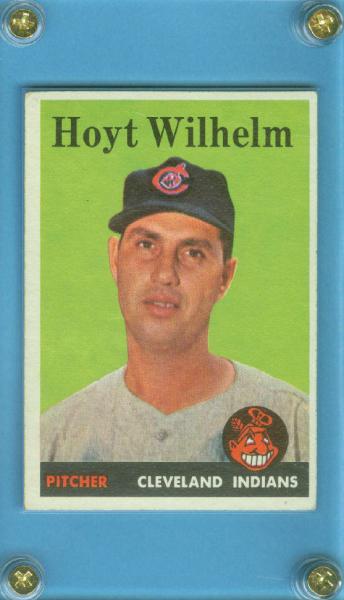 1958 Topps #324 Hoyt Wilhelm