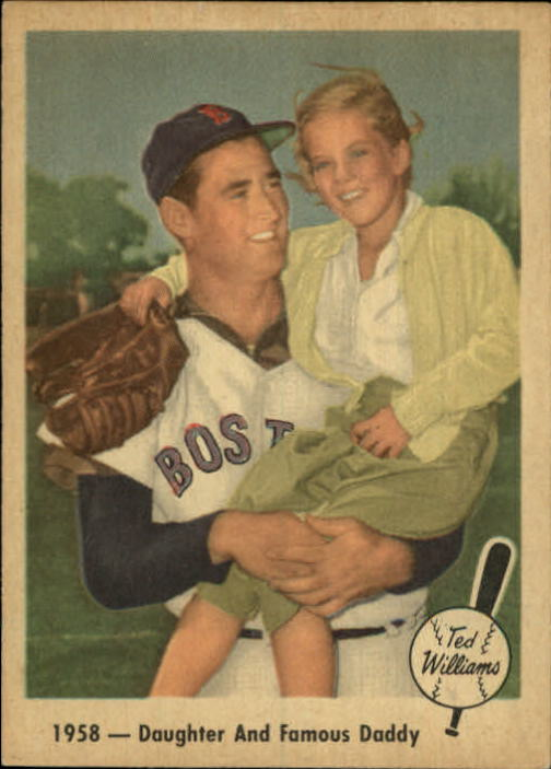 Details About 1959 Fleer Ted Williams Baseball Card 64 Daughter And Daddy Ex
