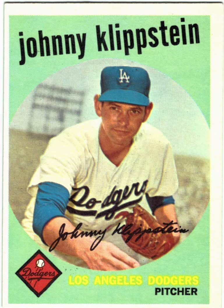1959 Topps #152 Johnny Klippstein