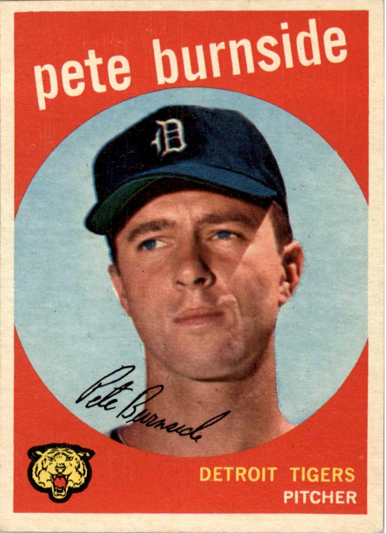 1959 Topps #354 Pete Burnside