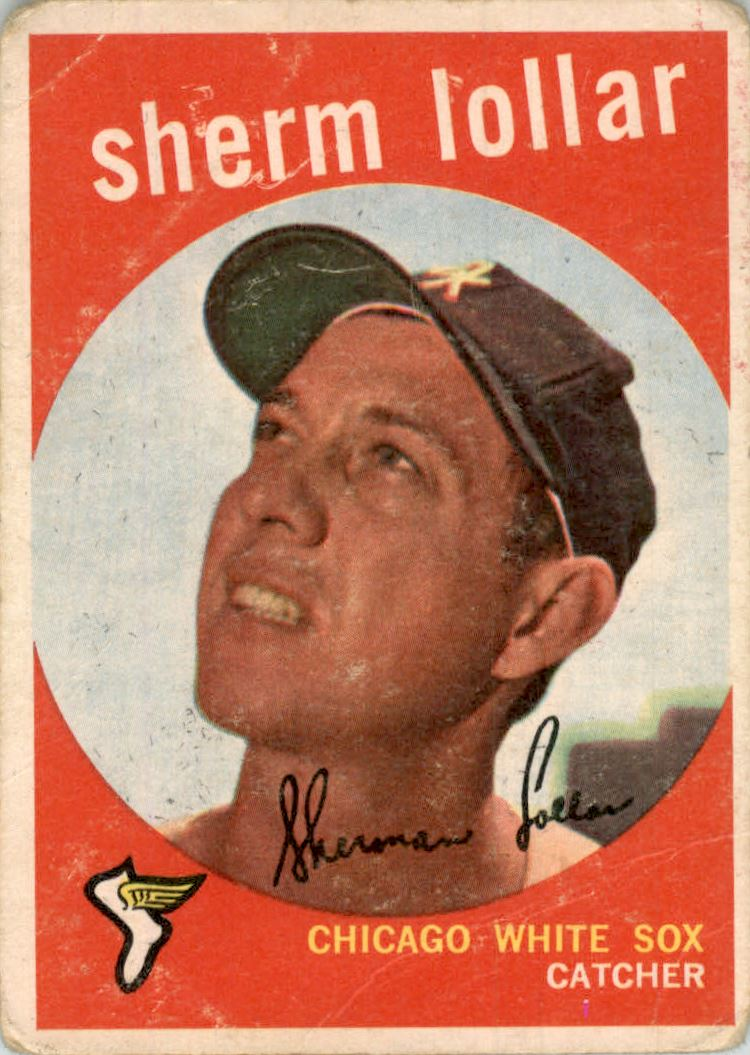 1959 Topps #385 Sherm Lollar