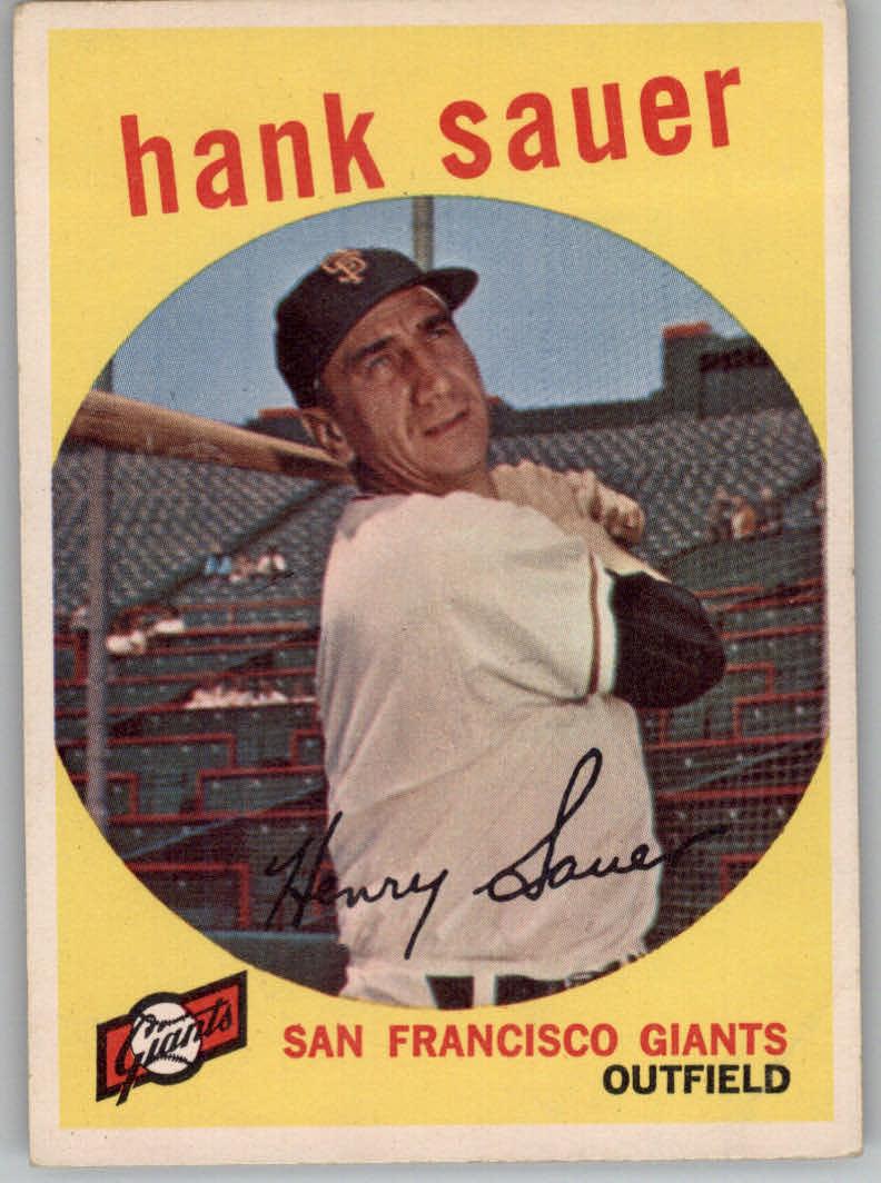 1959 Topps #404 Hank Sauer