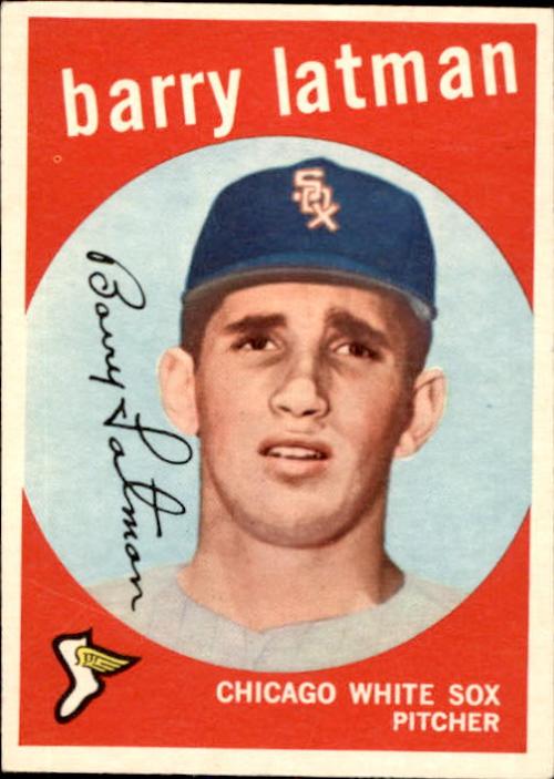 1959 Topps #477 Barry Latman RC