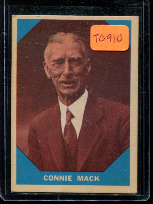 1960 Fleer #14 Connie Mack