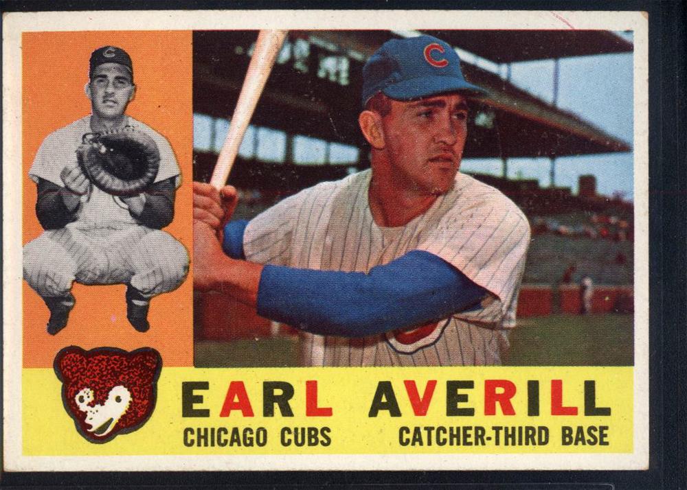 1960 Topps #39 Earl Averill Jr.