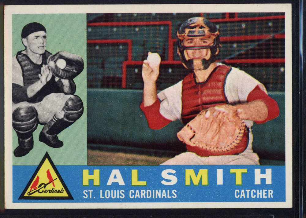 1960 Topps #84 Hal R. Smith