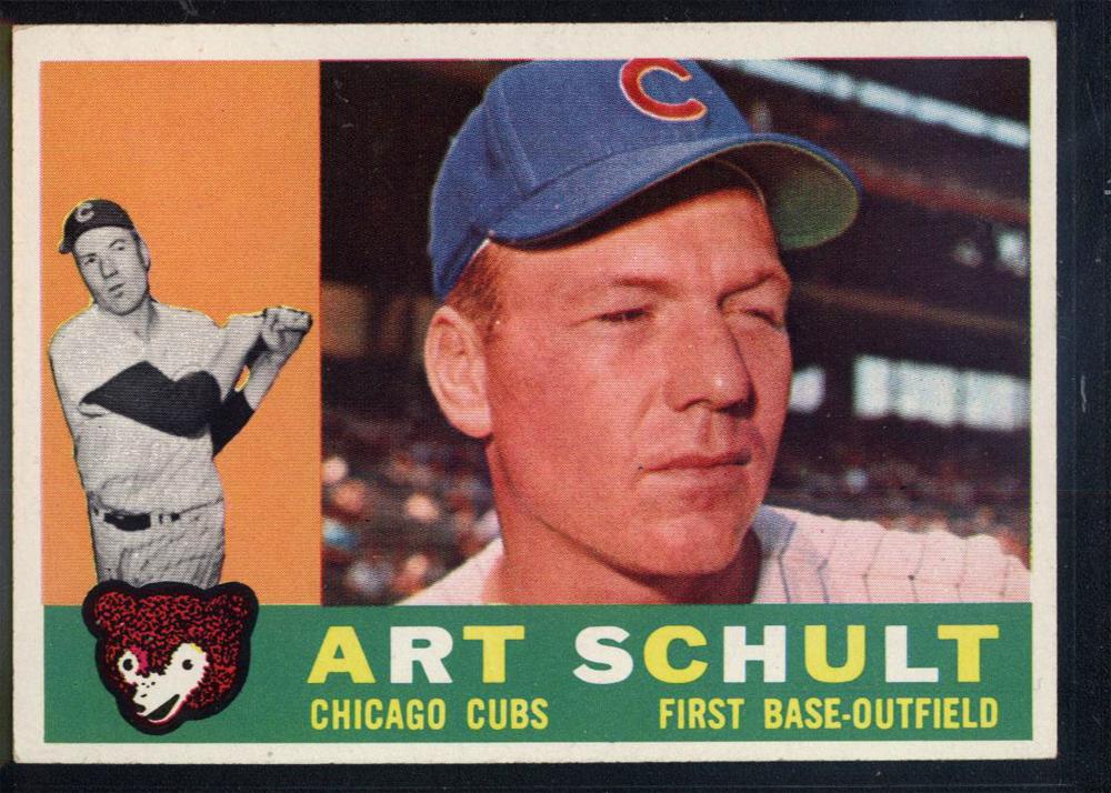 1960 Topps #93 Art Schult