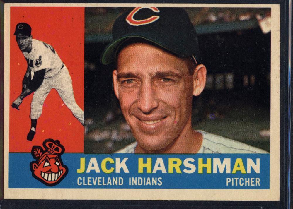1960 Topps #112 Jack Harshman