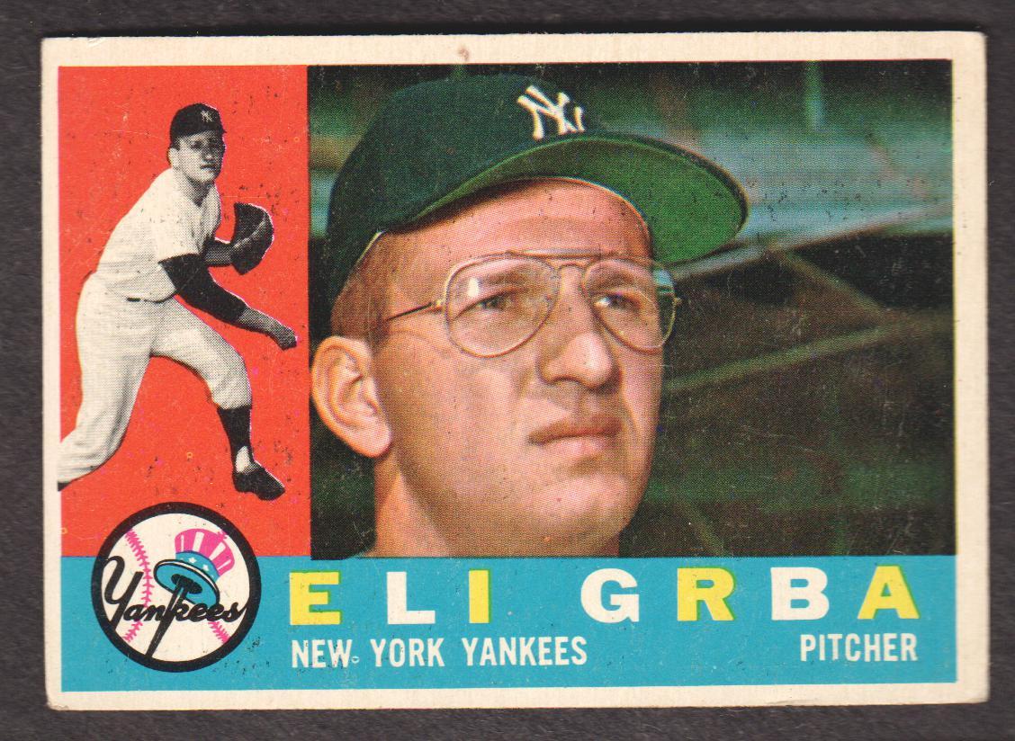 1960 Topps #183 Eli Grba RC