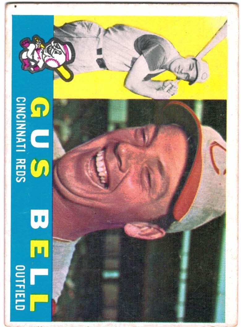 1960 Topps #235 Gus Bell