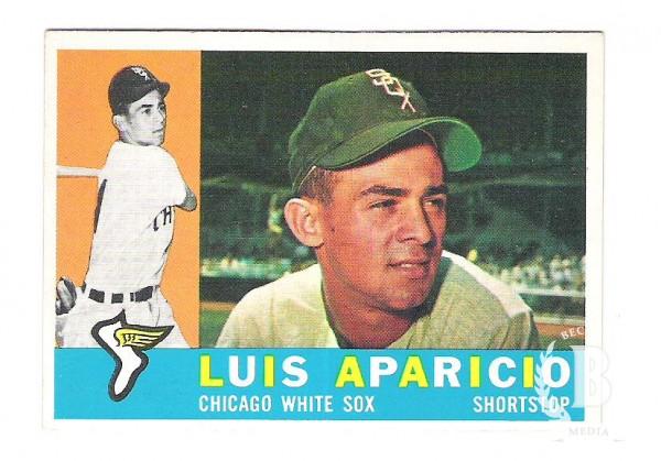 1960 Topps #240 Luis Aparicio